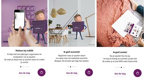 mrBOX app: dé organize app voor je spullen